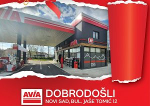 Osvežena je i treća AVIA benzinska stanica u Novom Sadu